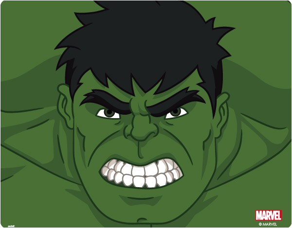 Incredible Hulk Face Template Face Clipart Incredible Hulk Pencil and In Color Face