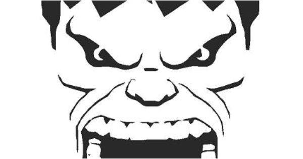 Incredible Hulk Face Template Hulk Stencil Www Imgkid Com the Image Kid Has It