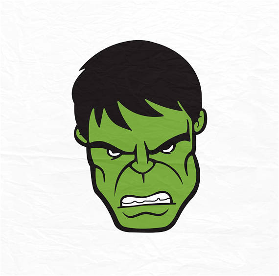 the incredible hulk face hulk face svg