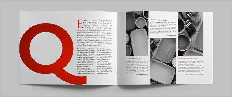 Indesign Case Study Template Case Study Template Lander Stockindesign