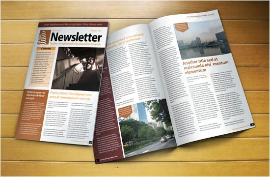 Indesign Cs5 Templates Free Download Free Indesign Newsletter Template Designfreebies