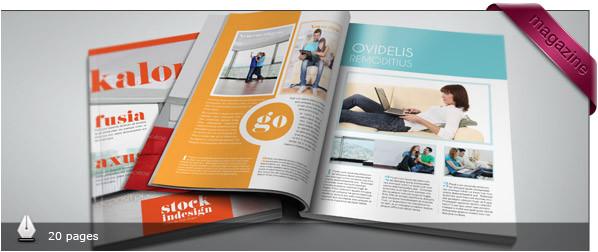 Indesign Digital Magazine Templates Download Free and Premium Print Magazine Templates