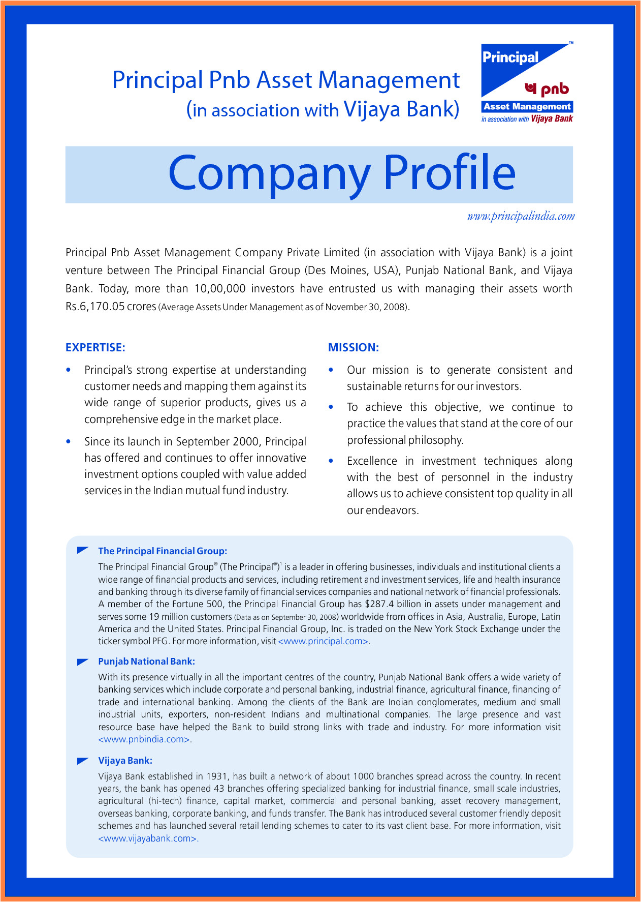 5 sample company profile template doc