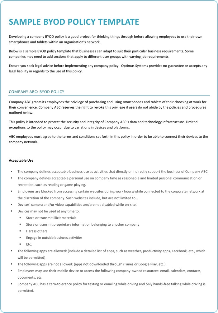 information technology policies and procedures templates