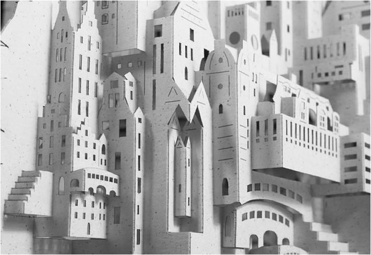 ingrid siliakus paper art city 2