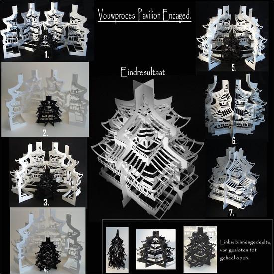 origami architecture of ingrid siliakus