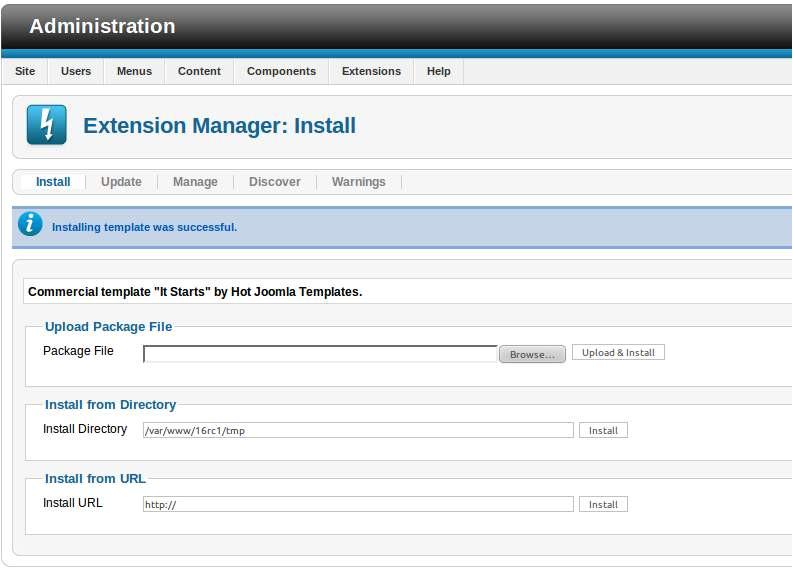 50 joomla template installation tutorial