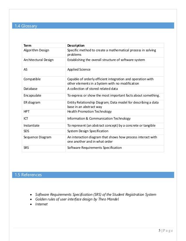 Integration Design Document Template Download Integration Design Document Template Free