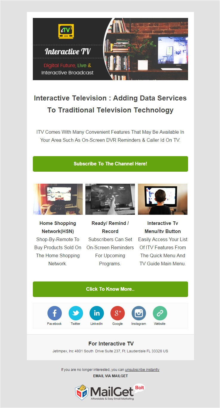 Interactive Email Template 11 Best Technology Email Marketing Templates for Tech