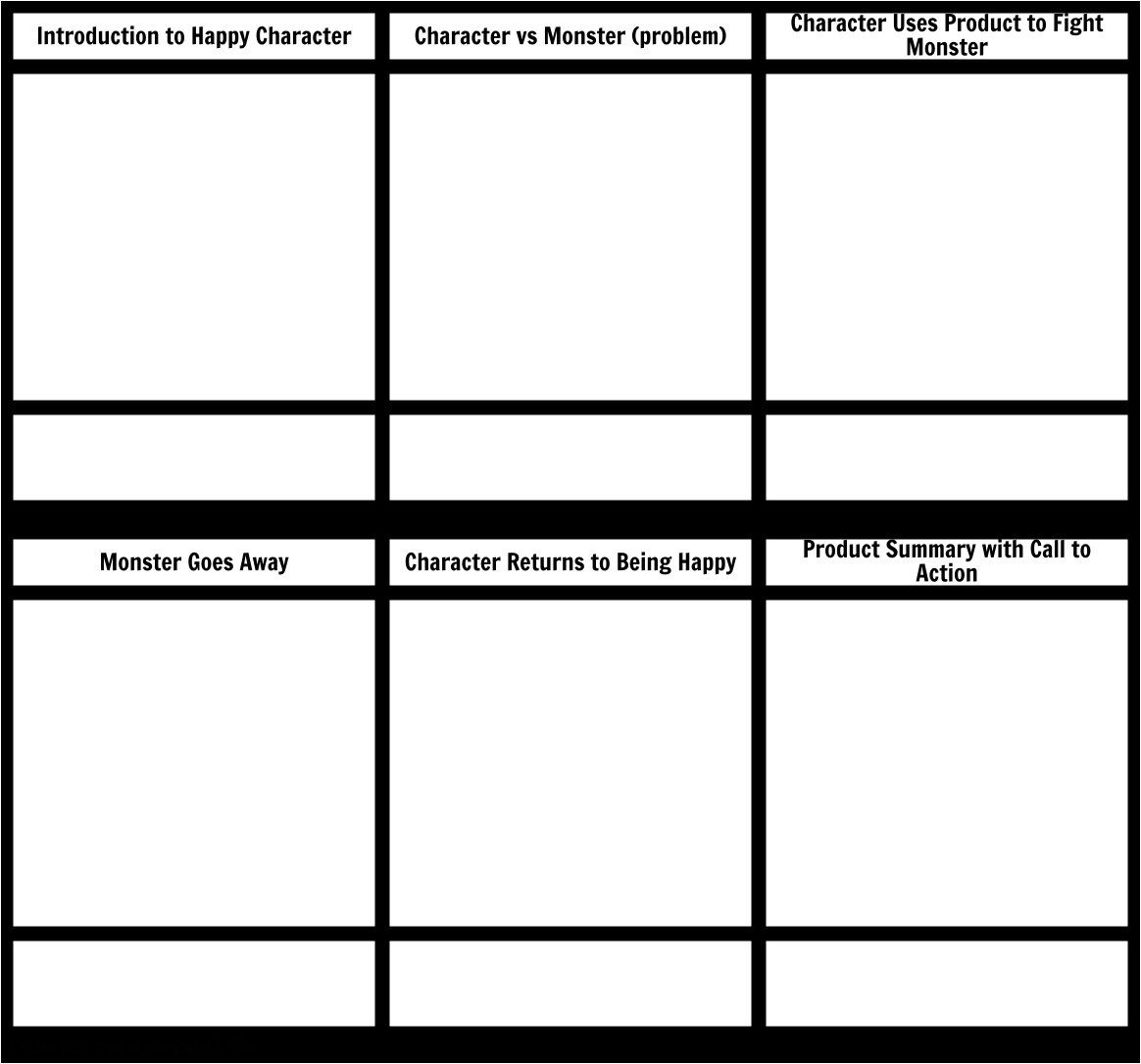 article 1 5 storyboards video marketing animated template