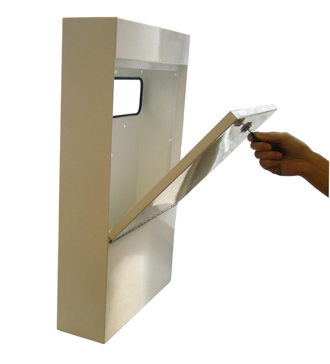 anti vandal letter box 1433 p