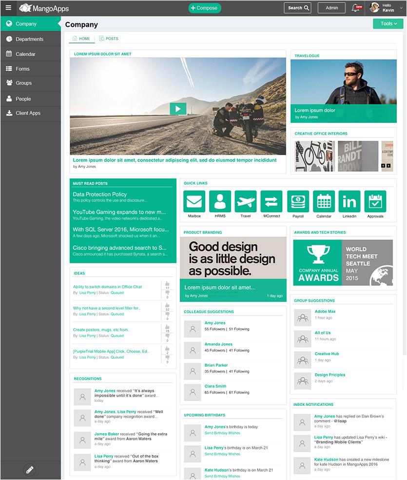 intranet design