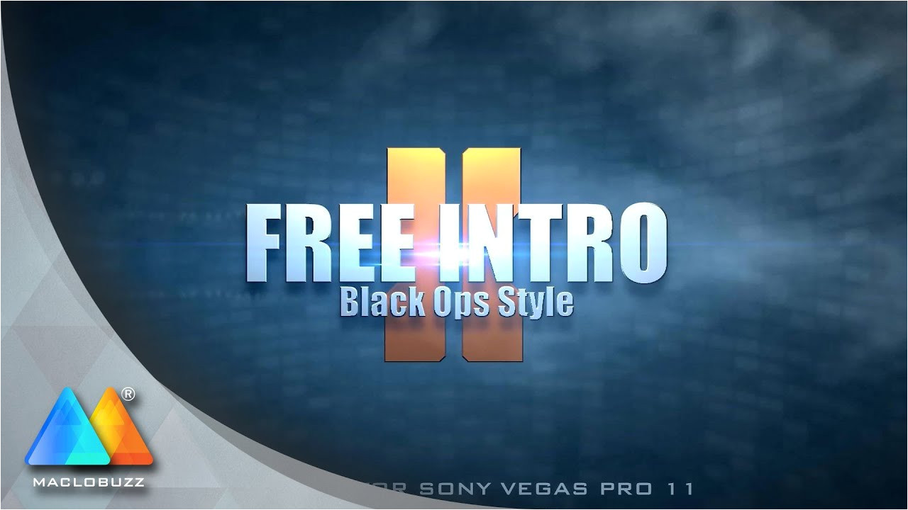 Intro Templates for sony Vegas Pro 11 Black Ops Style Intro New Free Intro Template sony
