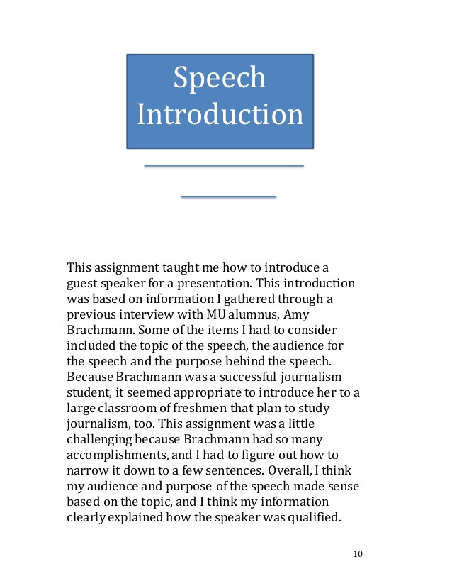 Introducing A Guest Speaker Template How to Introduce A Graduation Speaker Sample Just B Cause
