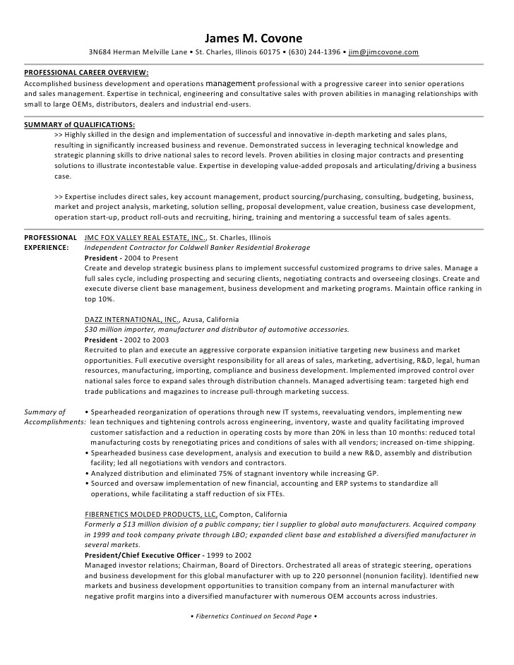 jmc resume presentation