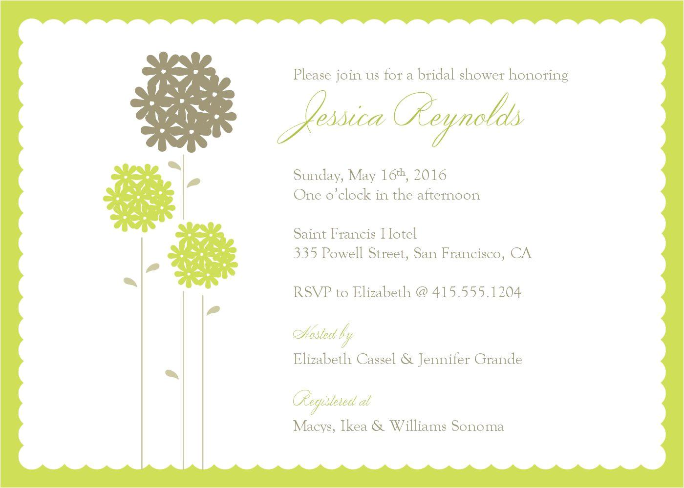 wedding invitation word template free 2