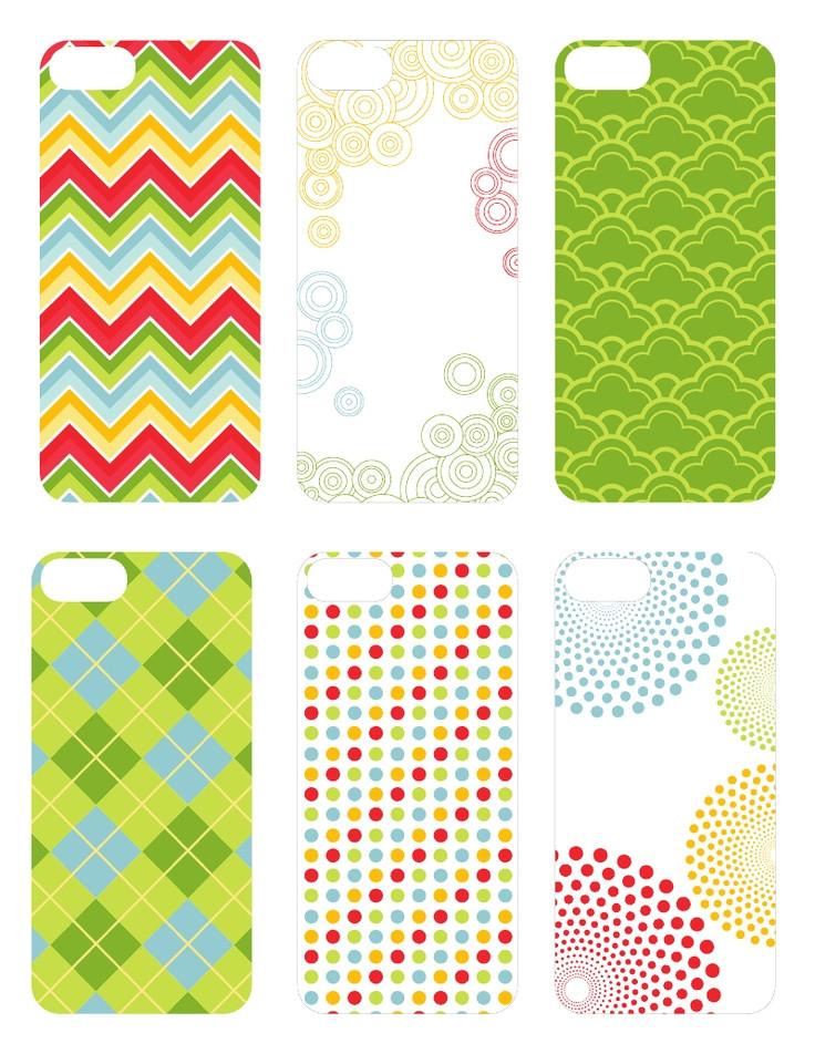 diy iphone 5s case template