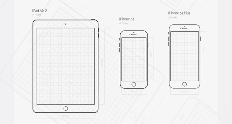 iPhone Wireframe Template Illustrator 50 Free Wireframe Templates for Mobile Web and Ux Design