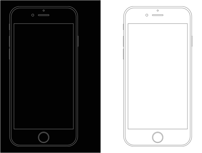 50046 minimal apple iphone 6s wireframe templates psd