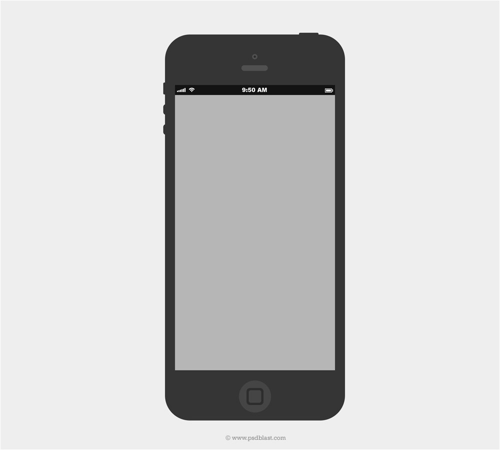 latest collection of iphone wireframe psds