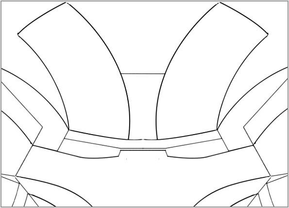 printable ironman mask template