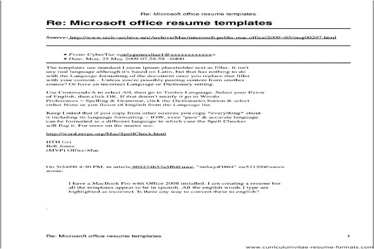 Is there A Resume Template In Microsoft Word 2010 is there A Resume Template In Microsoft Office 2010