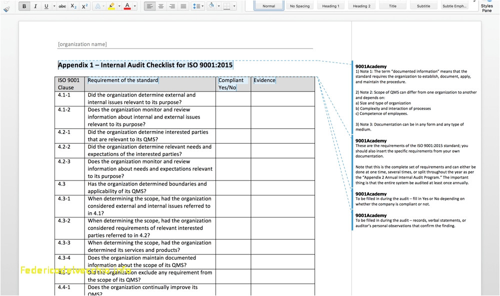 iso 27001 templates free download 40 luxury iso audit report template