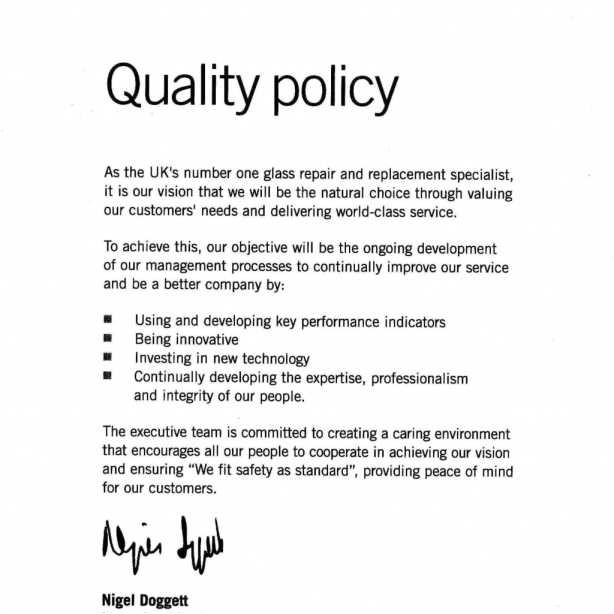 premium iso 9001 quality policy statement example