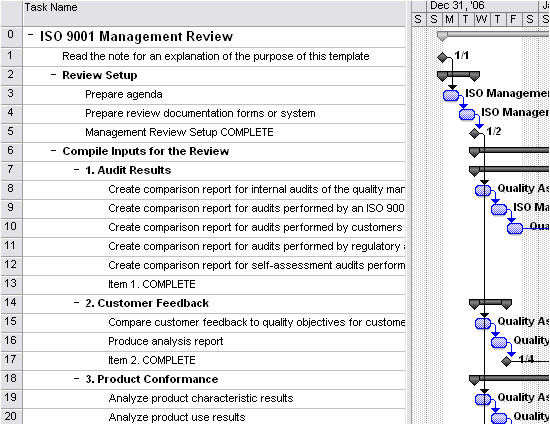 iso 9001 management review 153