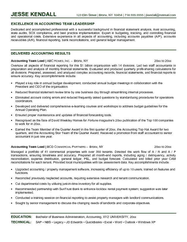 bpo team leader resume
