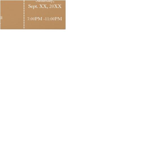 light brown jack and jill shower ticket invitation rack card 245897310716523426