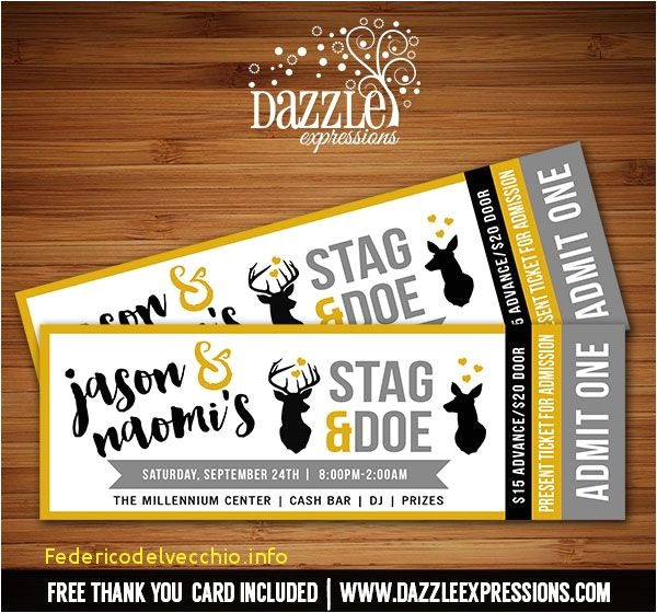 jack and jill ticket templates