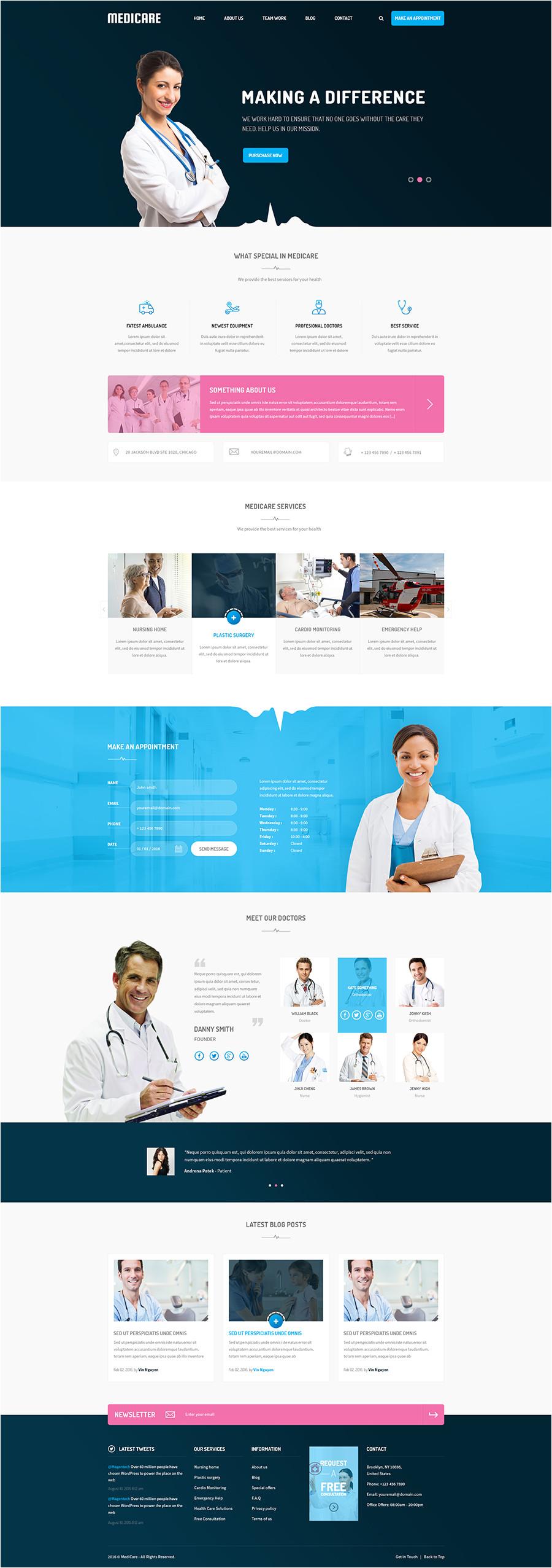 joomla medical template free