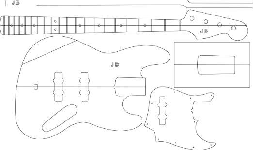 jazz bass template