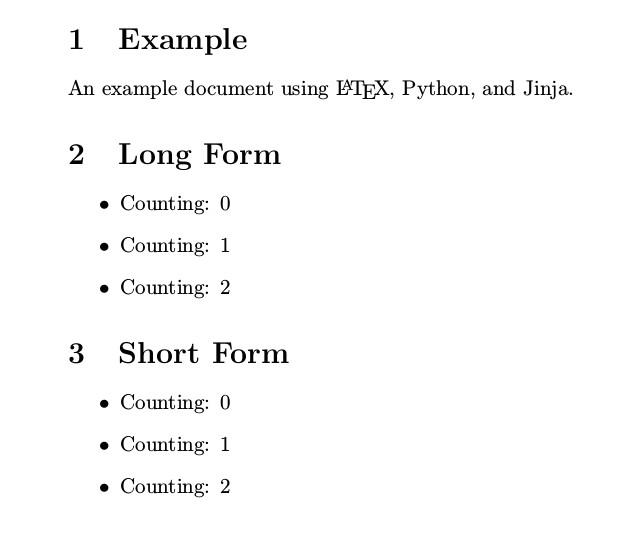 latex templates python and jinja2 generate pdfs