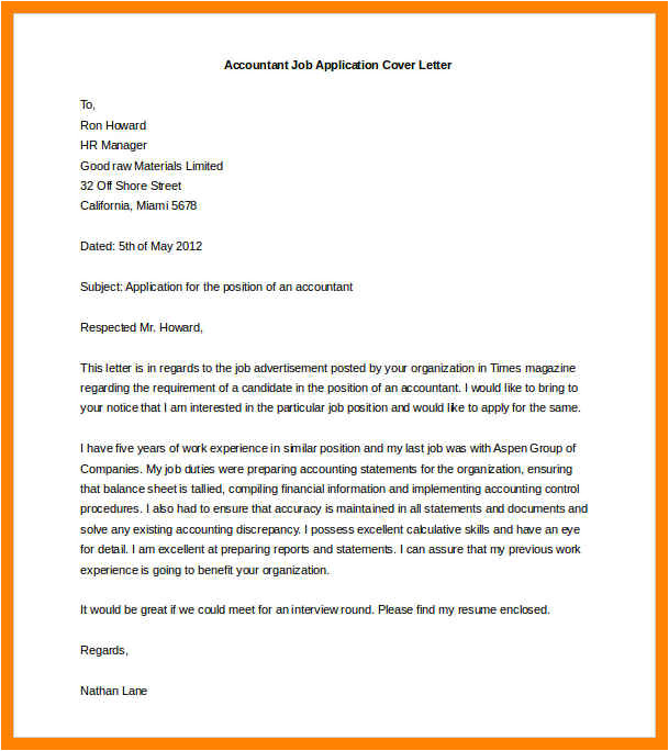 8 cover letter templates microsoft word