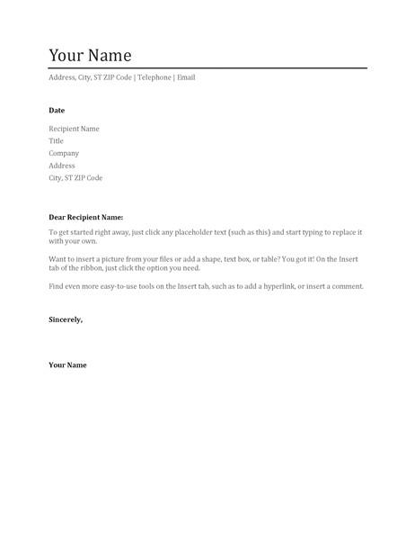 cv cover letter tm02919610