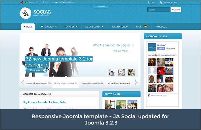 responsive joomla template ja social for t3 v1 0 3 release