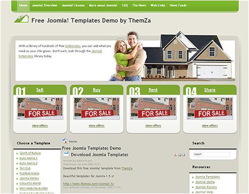 websites to download free joomla templates