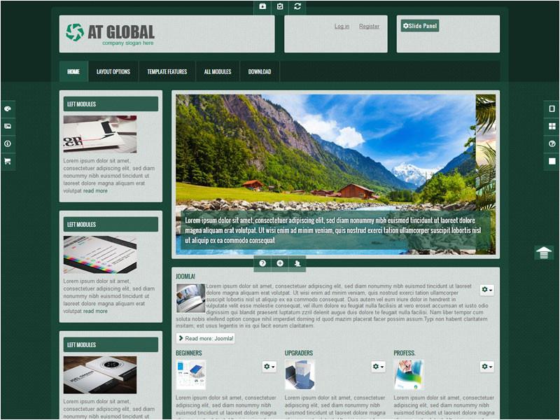 at global free joomla business template