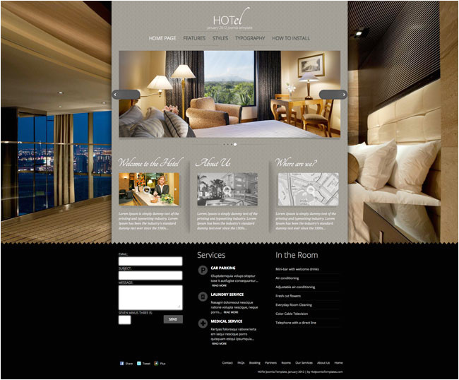 137 joomla hotel template