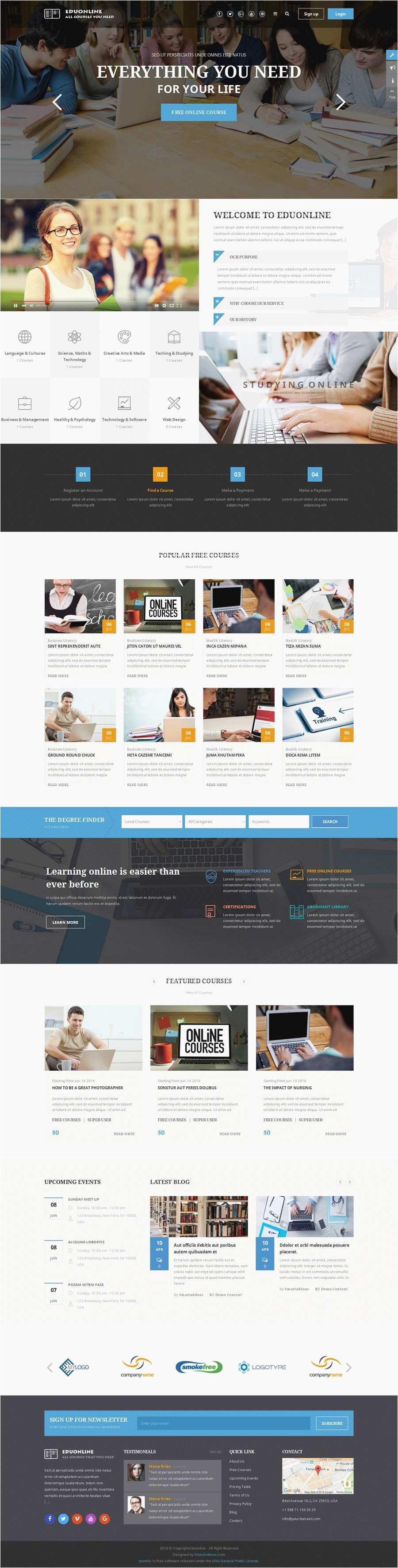non profit website templates joomla