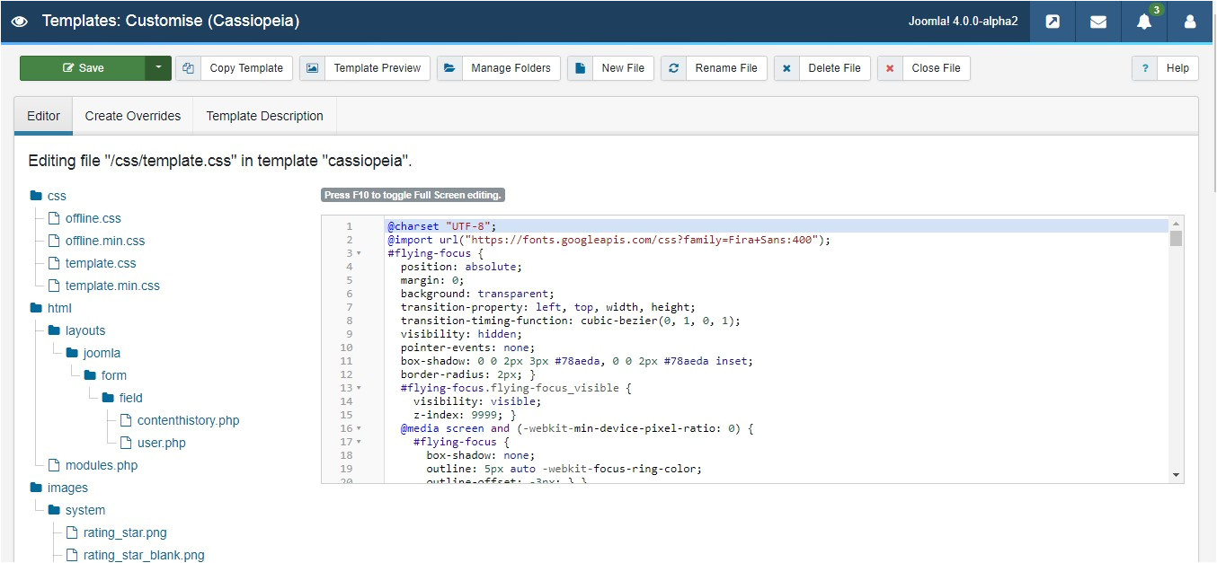 joomla 4 tutorials how to create override for modules components and layout