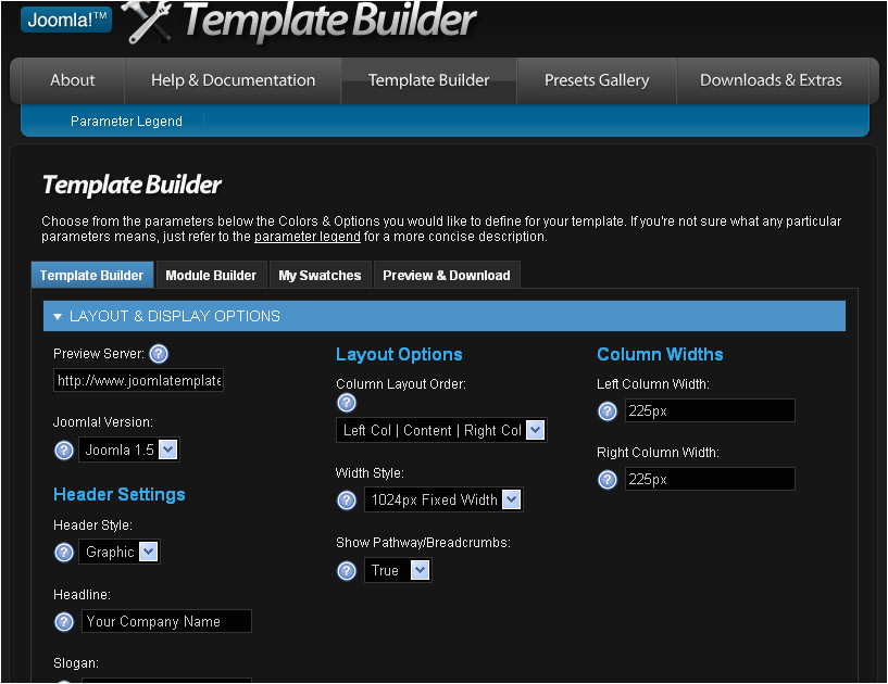 free online template generator for