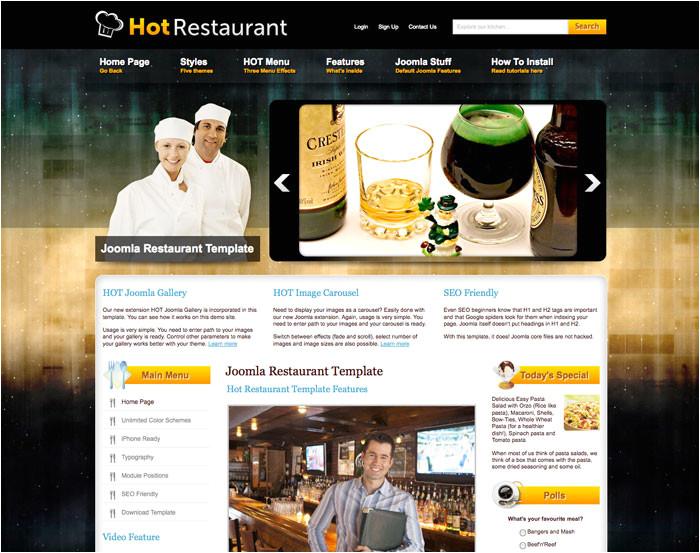 59 joomla restaurant template