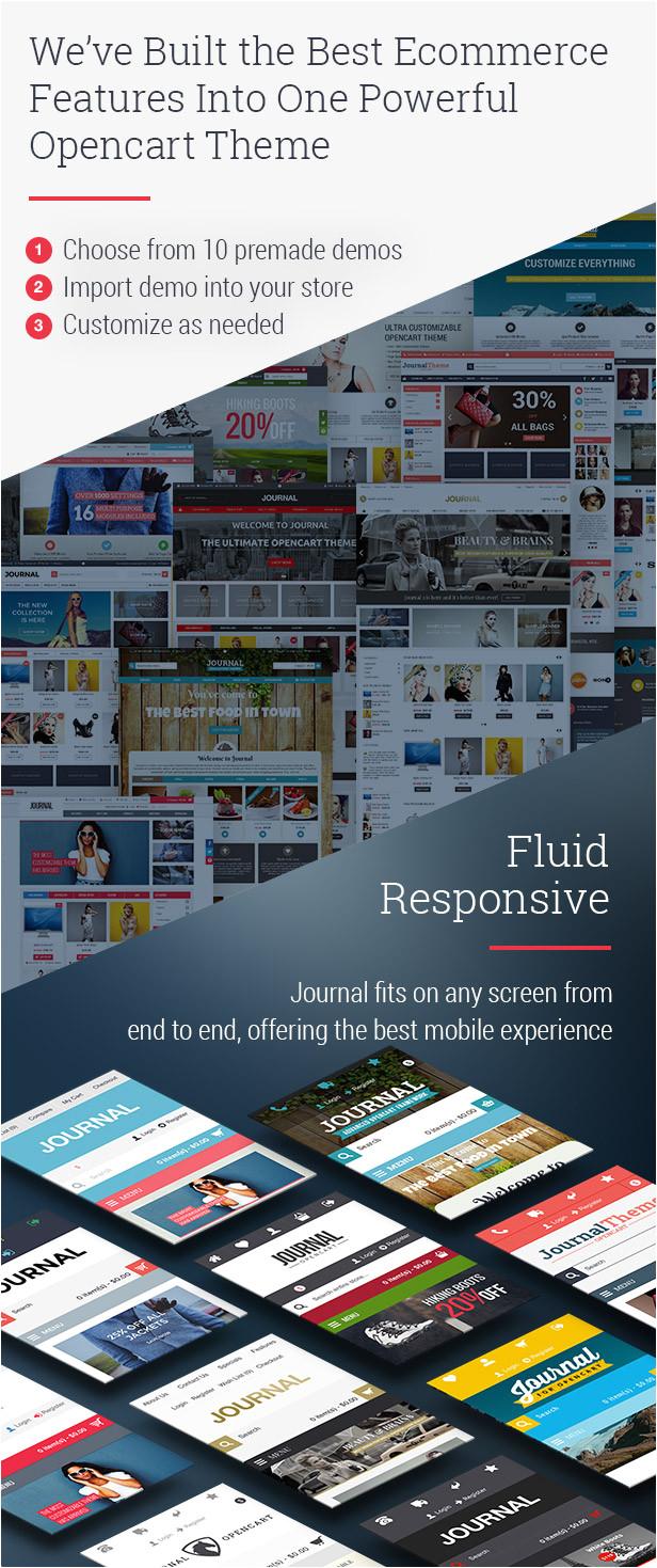Journal Opencart Template Journal Advanced Opencart theme Wooenvato Demo