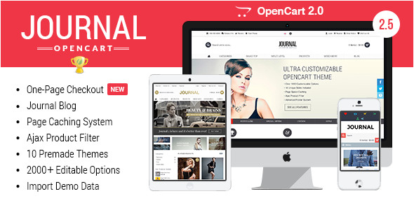 journal advanced opencart theme