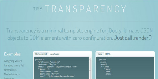 Jquery Template Engine Jquery Template Engine Image Collections Template Design