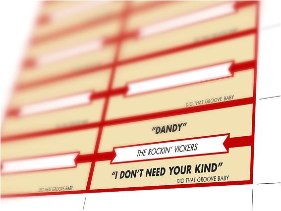 jukebox label template