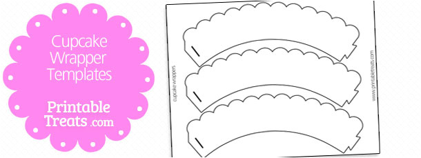 cupcake liners template